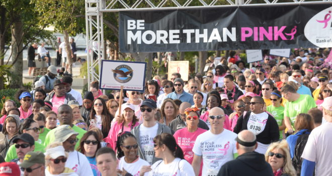 Race for the Cure Draws about 10,000 to waterfront
