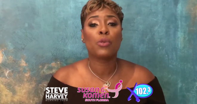 Steve Harvey Morning Show advocates for early detection