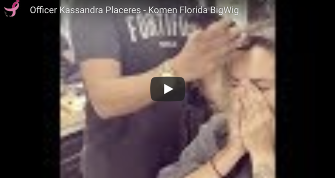 BigWig Shaves Her Head in Support of Sister