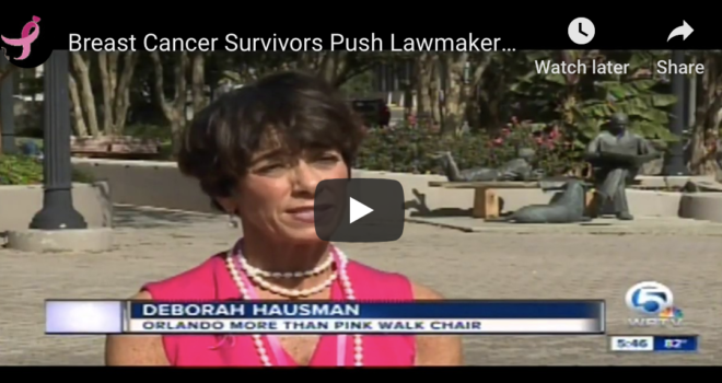 Breast Cancer Survivors Push Lawmakers for Help