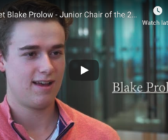 Meet Blake Prolow, 2020 Komen South Florida Race for the Cure Junior Chair