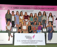 Komen Florida's Participation in U.S. Open Women's Polo Championship