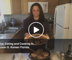 Facebook Live: Eating and Cooking for a Healthy Immune System During COVID-19